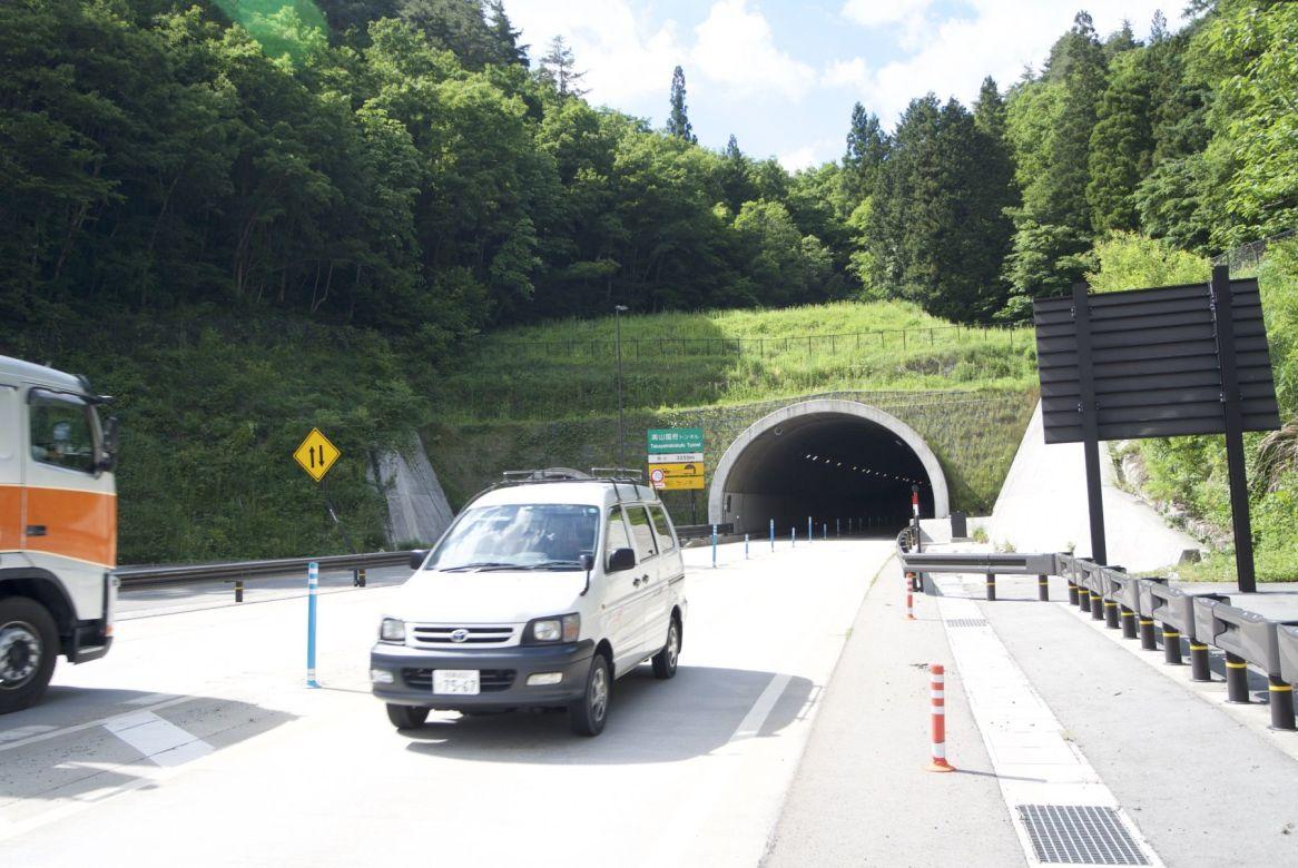 De naartse tunnel van de vakantie, en er was gewoon een andere route geweest.... foutje!