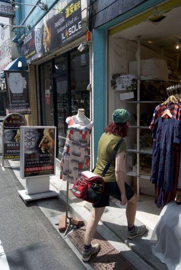Veel winkeltjes in en uit, weinig foto's gemaakt.