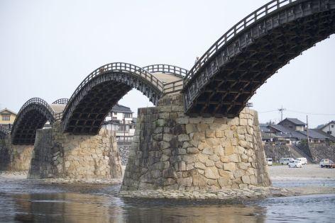 Kintaikyo oftewel de Kintai brug.