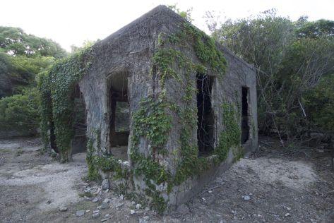 Meer ruïnes op rabbit island
