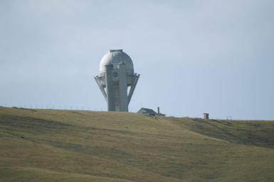 Vandaag gaan we voorbij het observatorium.