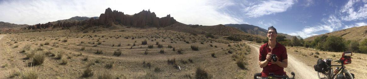He landschap blijft uitnodigen tot panoramafoto's.