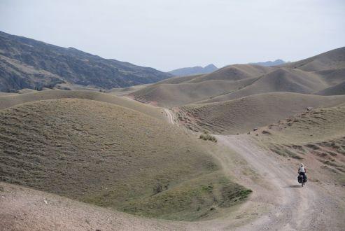 Bij een plateau denk je vlak na een klim, maar het Assy plateau is zelden vlak.