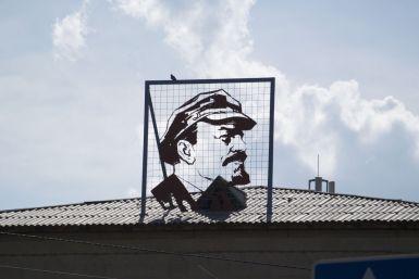 Het Sovjet verleden is nog veel zichtbaar.