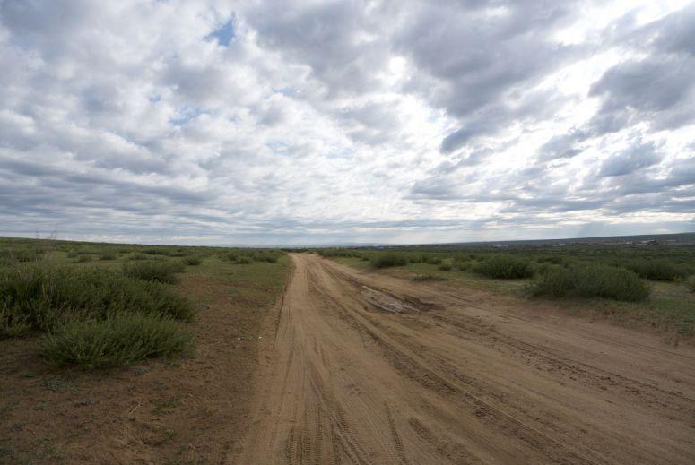 Modder hadden we niet verwacht, maar ja het is een natte zomer geweest in Mongolië.