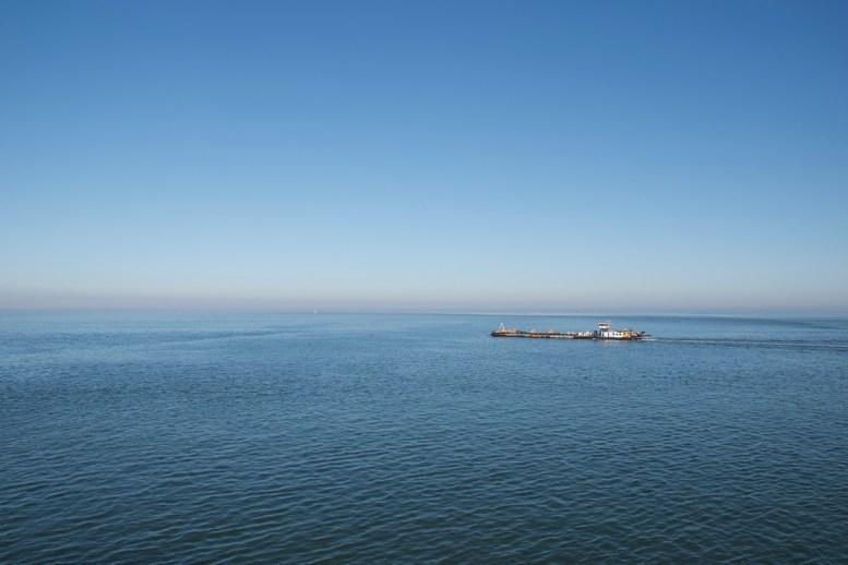 We hebben vandaag weinig tijd genomen voor foto's, maar op de boot valt verder toch niet veel te doen