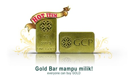 emas bar 1 gram gcp
