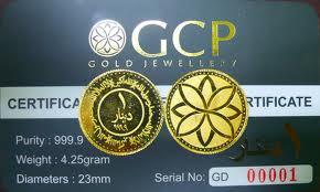 pelaburan emas daripada gcp