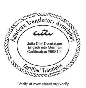 Jutta Diel-Dominique, CT