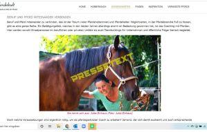 Pressetext Pferdegestütztes Coaching Deutschland