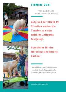 Terminübersicht Pferdegestütztes Coaching Freiburg