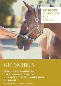 Kunstgestützter und Pferdegestützter Workshop in Freiburg