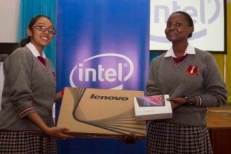 INTEL SUPPORTS GIRL SCHOOLS WITH COMPUTER DONATIONS
