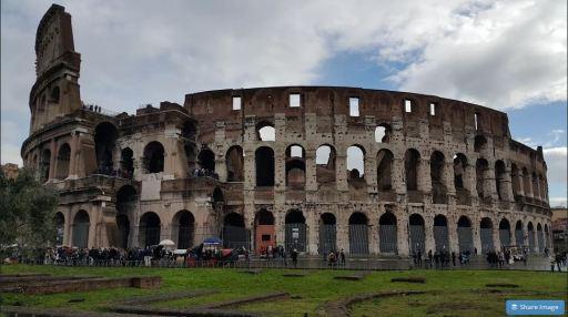 The Roman Colosseum Part Wide JUUCHINI