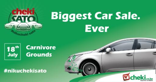 Cheki Kenya Car Buying Website Checki Sato Bazaar