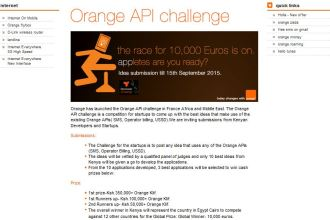 Orange Kenya API Challenge Banner JUUCHINI