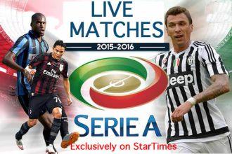 Serie A Italian Football League Banner K24 FTA Rights JUUCHINI