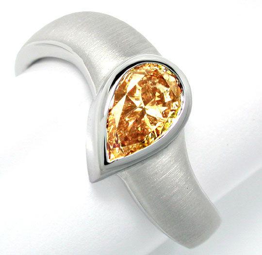 Natural Fancy Intense Vivid Canary Diamanten in Schmuck Juwelen