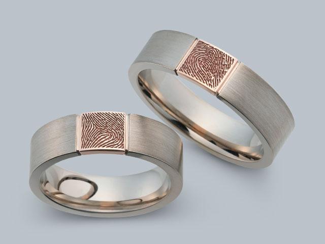 Juwelier Bonkhoff  Trauringe l1315fingerabdruck