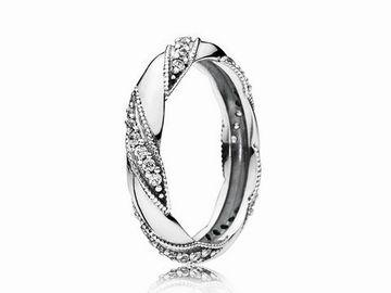 PANDORA 190981CZ54  LiebesBand  Silber  Ring