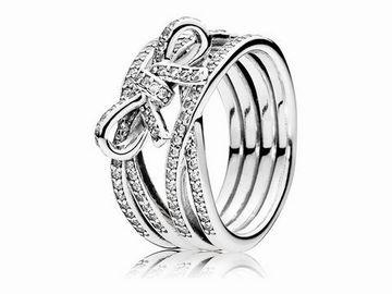 PANDORA  190995CZ54  Zarte Gefhle  Silber Ring
