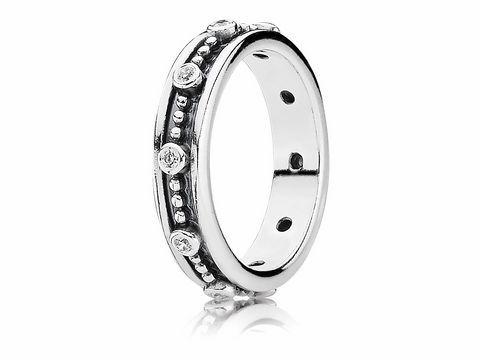 PANDORA 190882CZ50 Silber Ring  elegant  Zirkonia  Gr