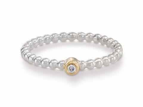 PANDORA Schmuck  BICOLOR Ring Gr 5016  190214D