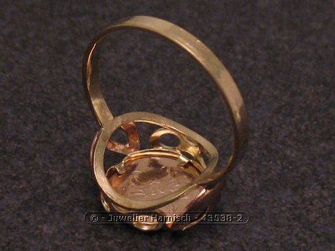 Mnzring  John F  Robert Kennedy  Gold 333 bicolor