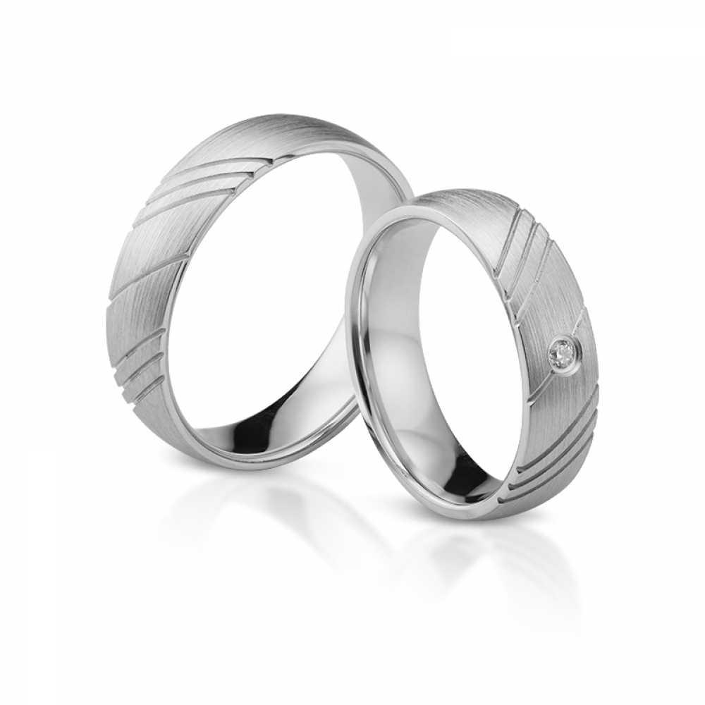 Silber Partnerringe 4346  Eheringe Schmuck und