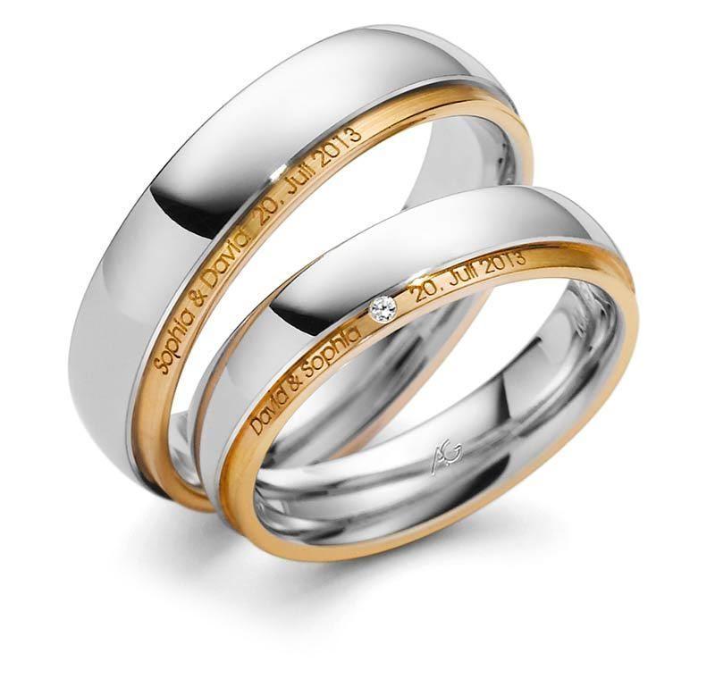 Trauringe  Gerstner  4284115  Kollektion U 32  Gold 375 585 750  Trauringe und Schmuck