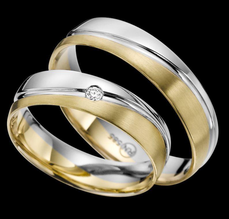 Trauringe  Rubin  EC 84  R141  Gold 375 585 oder 750