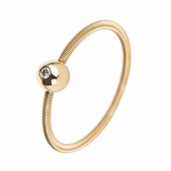 Niessing Colette N281521 Ring Rotgold mit Brillant