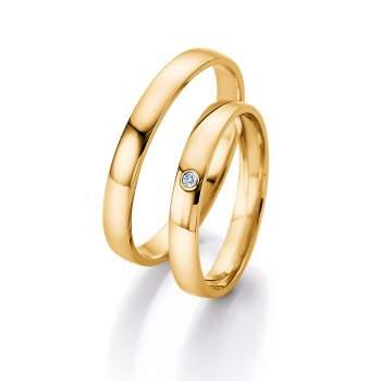 Hochzeitsringe Gold Gunstig  Hochzeit