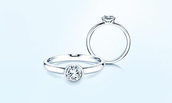 Platinringe mit Diamant online kaufen  JUWELIERde