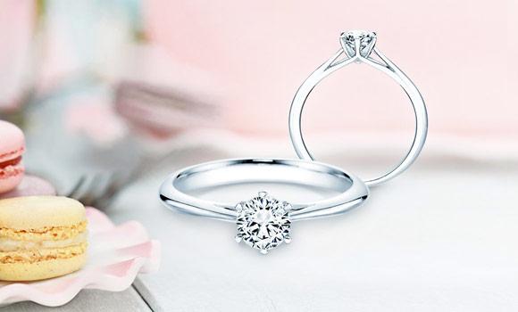 Verlobungsringe handgefertigt mit Diamant ab 129