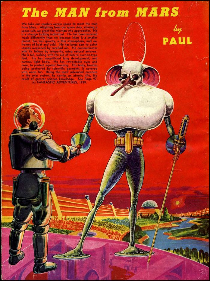 ¿Cómo eran los alienígenas de 1939?