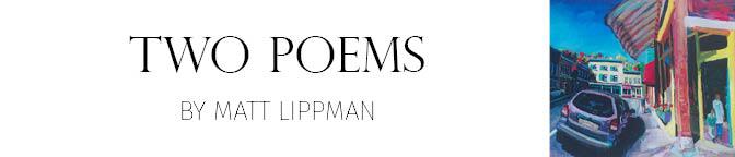 POETRY2 Matt Lippman