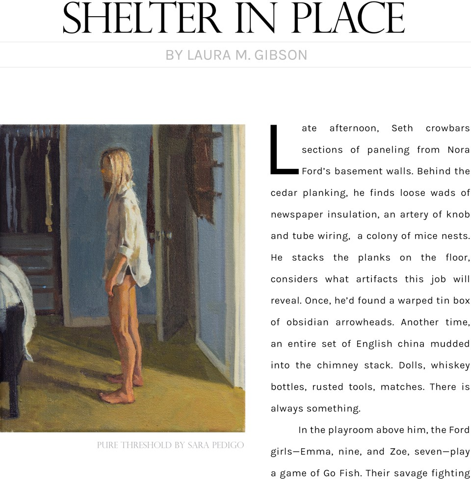 Shelter in Place by Laura M Gibson