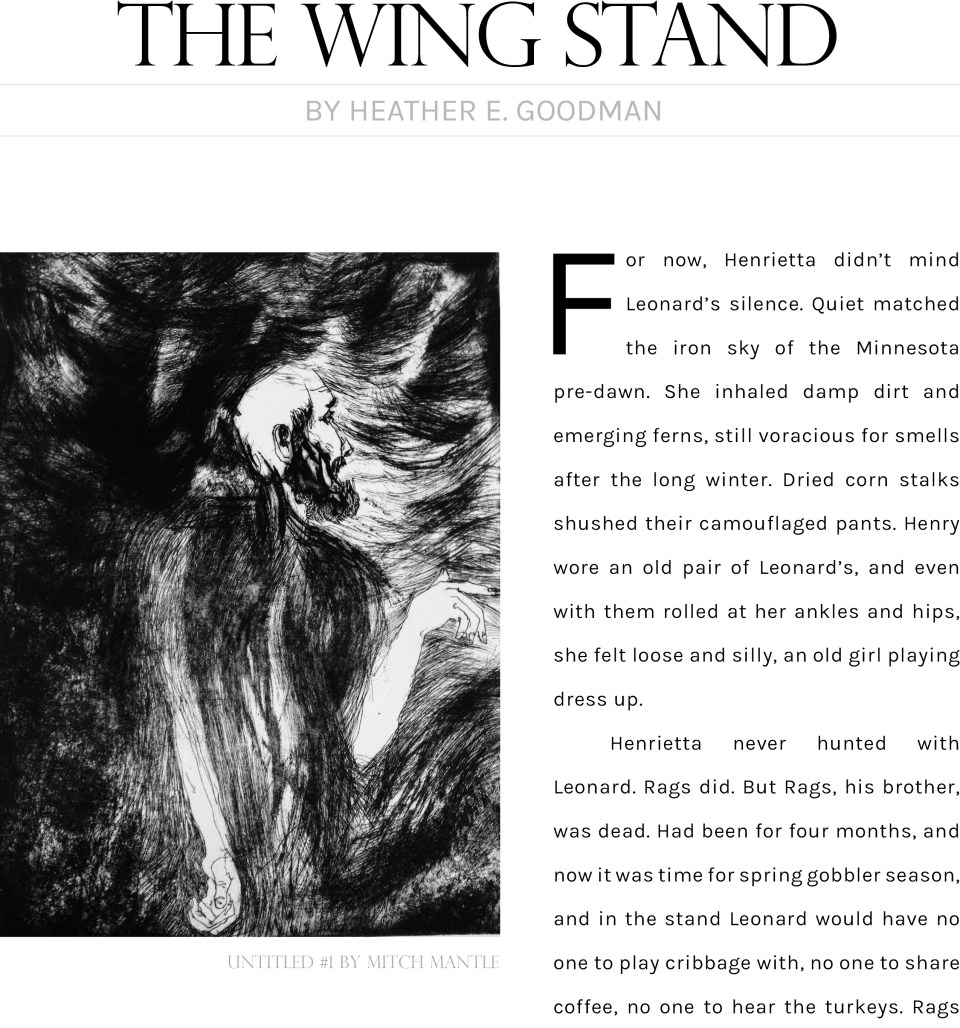 The Wingstand by Heather Goodman