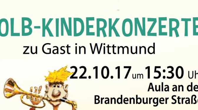 Die Blindfische rocken beim ersten OLB-Kinderkonzert in Wittmund