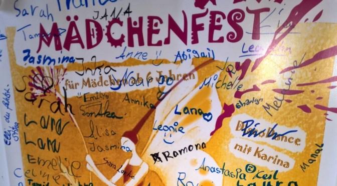 Das Mädchenfest 2015 war im Anzeiger