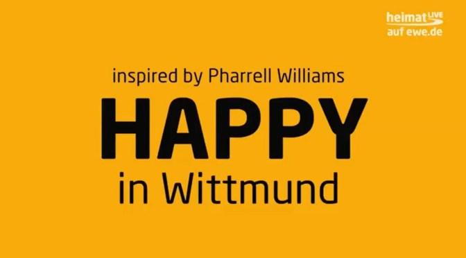 Happy in Wittmund mit Jugendlichen aus dem Jung-Lü-Huus