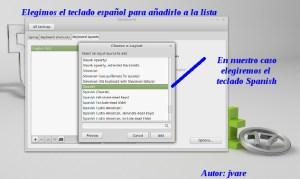 Añadir teclado español a Mint17