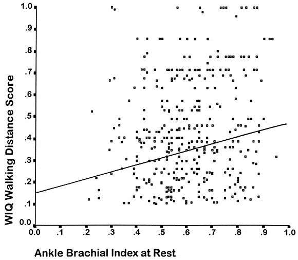 Effect of lower extremity blood pressure on physical