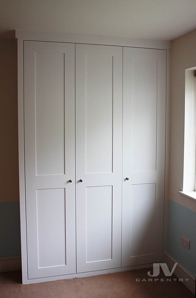 Fitted wardrobes with shaker doors Kilburn North West