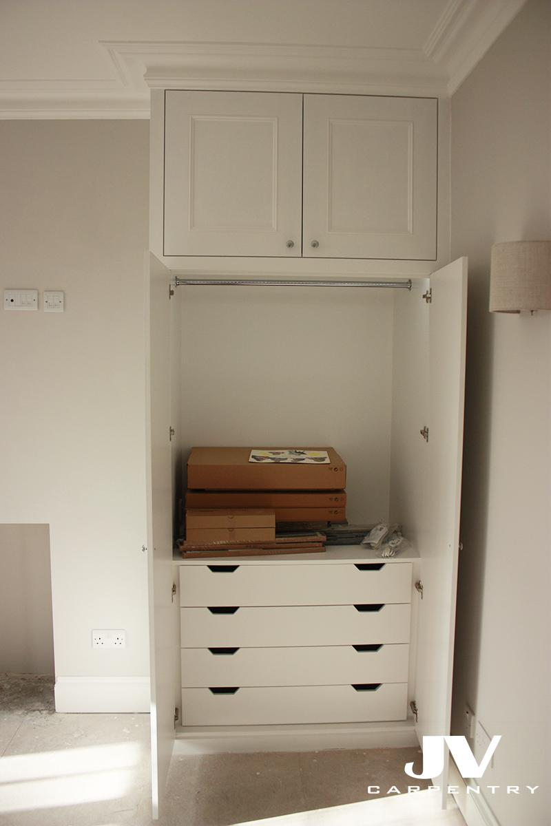 Wardrobes interior layouts  JV Carpentry