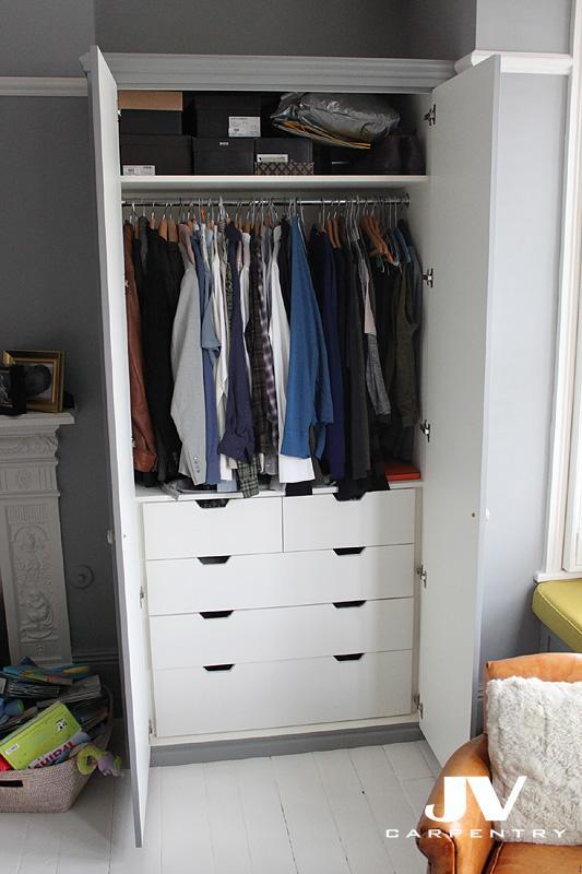 And Drawers Hanging Wardrobe