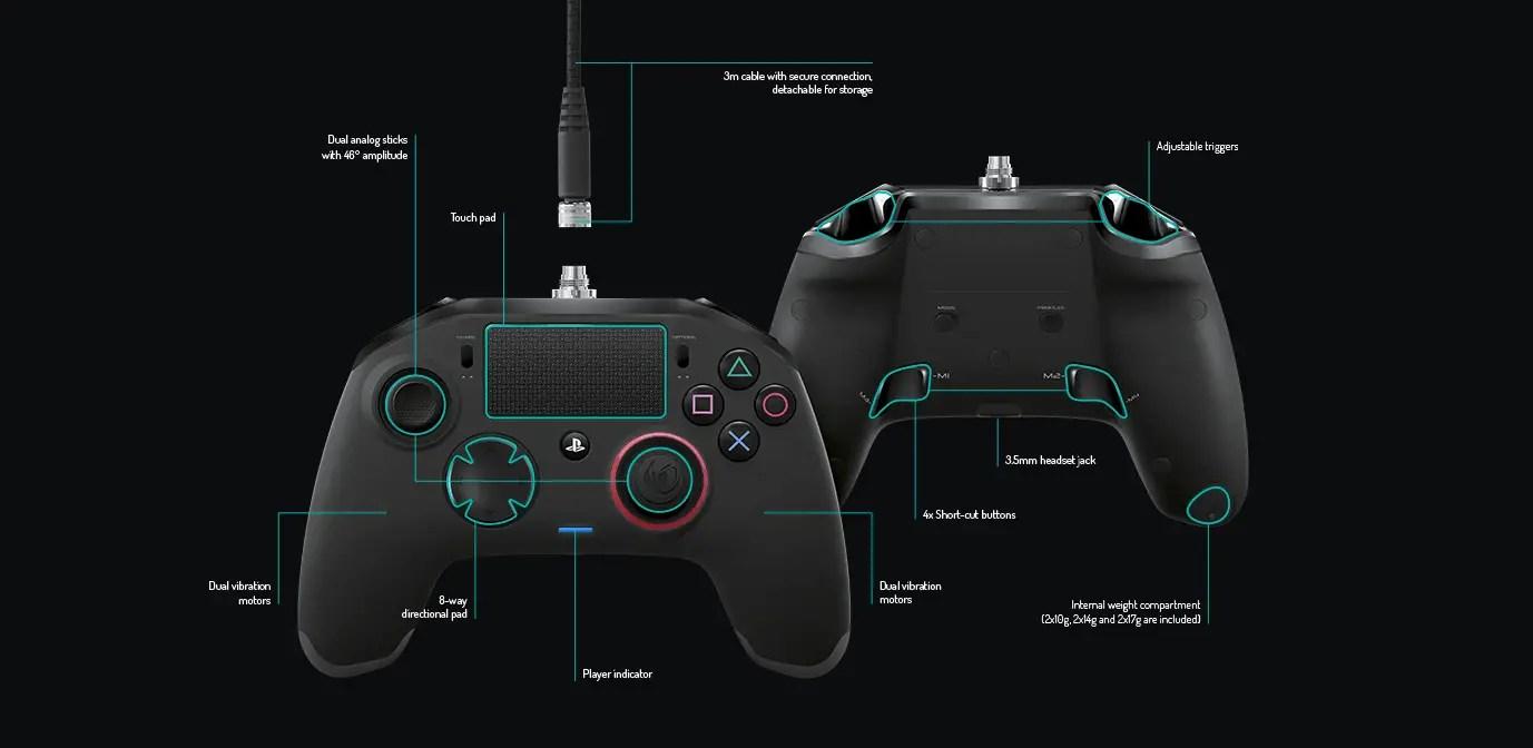 TEST De La Manette PS4 Nacon Revolution Pro Controller
