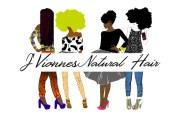 natural hair logo design