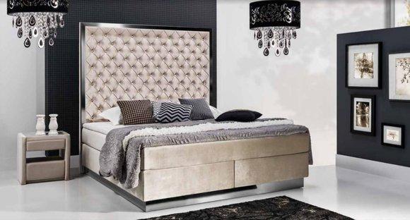 Boxspring Bett Modernes Design und Klassische Betten Gnstig bei jvmoebelde